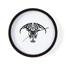 A.A. Logo Taurus B&W - Wall Clock