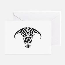 A.A. Logo Taurus B&W - Greeting Cards (Pk of 10)