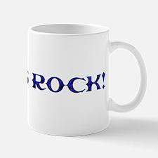 3sums rock! Blue steel Mug