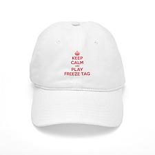 Keep Calm Play Freeze Tag Baseball Cap