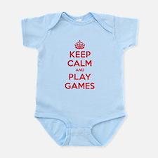Keep Calm Play Games Onesie