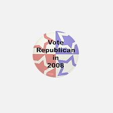 Vote Republican Mini Button