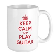 Keep Calm Play Guitar Mug