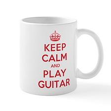 Keep Calm Play Guitar Small Mug