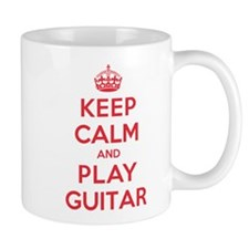 Keep Calm Play Guitar Small Small Mug