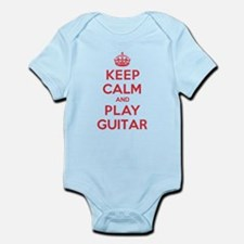 Keep Calm Play Guitar Infant Bodysuit