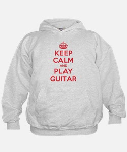 Keep Calm Play Guitar Hoodie