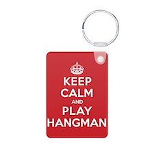 Keep Calm Play Hangman Keychains