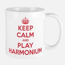 Keep Calm Play Harmonium Mug