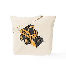 skid steer digger truck Tote Bag