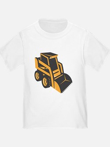 skid steer digger truck T