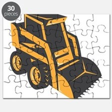 skid steer digger truck Puzzle