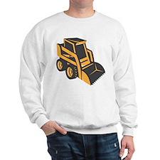 skid steer digger truck Sweatshirt