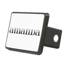 Amanda Carved Metal Hitch Cover