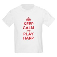 Keep Calm Play Harp T-Shirt