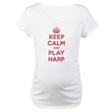 Keep Calm Play Harp Shirt
