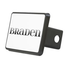 Braden Carved Metal Hitch Cover