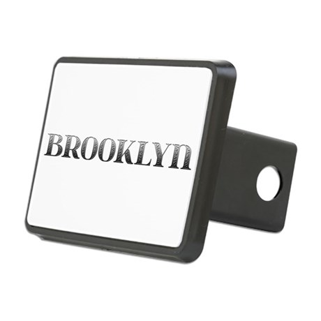 Brooklyn Carved Metal Rectangular Hitch Cover