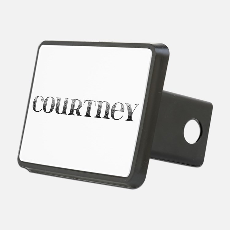 Courtney Carved Metal Hitch Cover