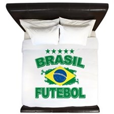 Brasil World Cup Soccer King Duvet