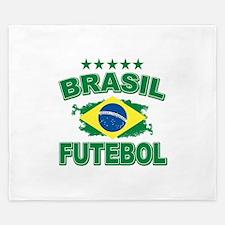 Brasil World Cup Soccer King Duvet
