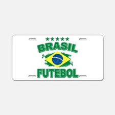 Brasil World Cup Soccer Aluminum License Plate