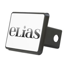 Elias Carved Metal Hitch Cover