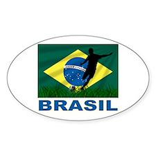 Brasil World Cup Soccer Decal