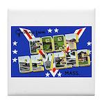 Fort Devens Massachusetts Tile Coaster