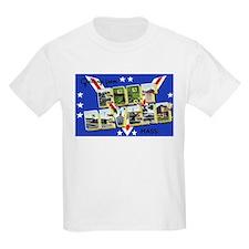Fort Devens Massachusetts (Front) Kids T-Shirt