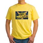 Fort Devens Massachusetts Yellow T-Shirt