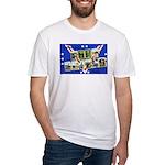 Fort Devens Massachusetts Fitted T-Shirt