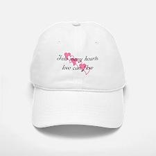 Into many hearts love can flo Baseball Baseball Cap