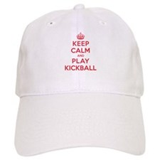 Keep Calm Play Kickball Cap