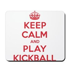 Keep Calm Play Kickball Mousepad