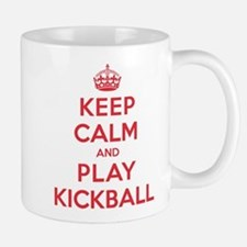 Keep Calm Play Kickball Mug