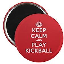 "Keep Calm Play Kickball 2.25"" Magnet (10 pack)"