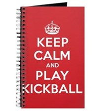 Keep Calm Play Kickball Journal