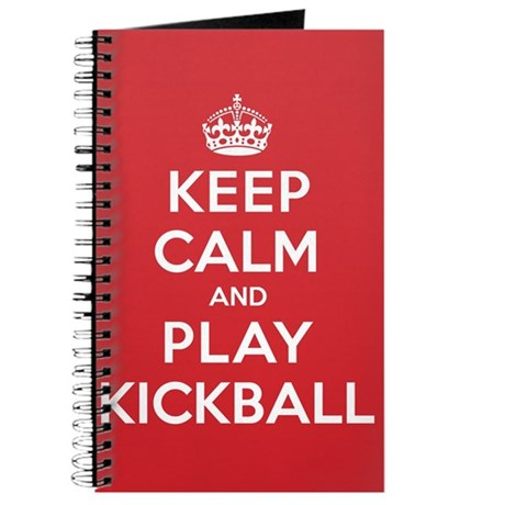 Keep Calm Play Kickball Journal