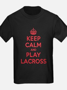 Keep Calm Play Lacross T