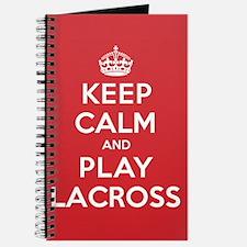Keep Calm Play Lacross Journal