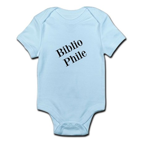 Bibliophile Infant Bodysuit