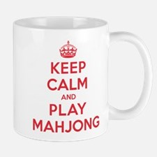 Keep Calm Play Mahjong Mug
