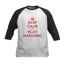 Keep Calm Play Mahjong Tee