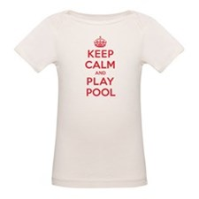 Keep Calm Play Pool Tee