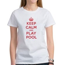 Keep Calm Play Pool Tee