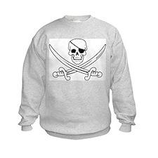 Eyepatch Skull & Crossed Swords Sweatshirt