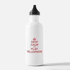 Keep Calm Play Mellophone Water Bottle