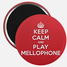 "Keep Calm Play Mellophone 2.25"" Magnet (10 pack)"