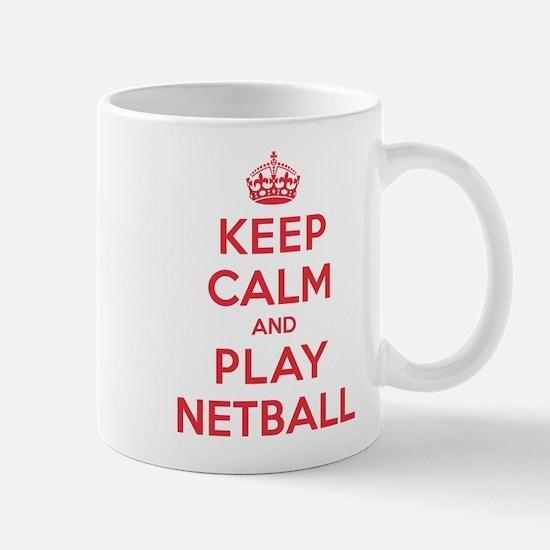 Keep Calm Play Netball Mug